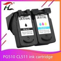 Cartuccia di cartucce d'inchiostro per Canon PG 510 cl 511 PG510 cl511 PIXMA MP250 IP2700 MP480 MP490 MP230 MP280 Printer1