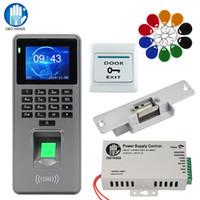 DIY Система контроля доступа по отпечатку пальца Kit Биометрические системы RFID клавиатуры Считыватель + Электрические Магнитные запорных Замки + 10шт ключи