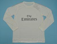 2015 2016 Ronaldo Real Madrid 축구 유니폼 레트로 벤제마 축구 셔츠 15 16 제임스 빈티지 Camiseta de Fútbol Pepe Sergio Ramos Maillot