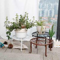 1pc Garden Storage Back Stand Piano Display Scaffale Stadio in vaso in vaso in ferro battuto Stile classico Balcone Balcone Crea decorazioni per la casa1