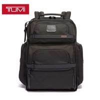 Tumi Tumin Alpha 3 серии баллистические нейлоновые мужские черный бизнес рюкзак компьютерная сумка рюкзак 578d3