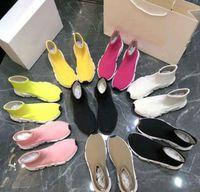 مصمم عارضة الجوارب الأحذية امرأة الأحذية الأزياء مثير محبوك مرونة جورب الأحذية الذكور الأحذية الرياضية كبيرة