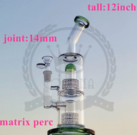 Mobius Stereo Matrix Perc- New Recycler Oil Wall Water Double Recycler Bong Necial Glass Bong Klein Pavole Recycler Oil Rig