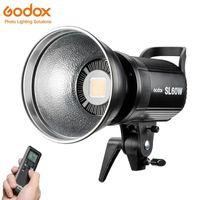 Godox LED SL-60W 60W Blanc 5600K / 3300K Jaune Version LED Light Studio vidéo en continu Lampe Bowens Mont + Télécommande