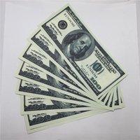 Bank Bar U.S.Currency 100 Banconote giocattolo Puntelli falsi O9 Vecchi Bambini Forgiati Prestazioni del dollaro Forgiato LGNDE Copia denaro Shooting CvDWU