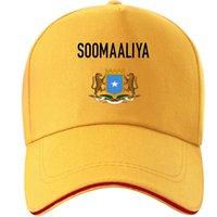 Somalia Cappello FAI DA TE GRATUITAMENTE Photo Nome foto Numero numero SOM Cap Nation Bandiera Soomaaliya Repubblica federale Somali Stampa Testo Berretto da baseball J1225