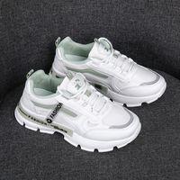 Açık Bottes Yürüyüş Ayakkabıları Kadın Koşu Ayakkabıları Tripe Üç Renkler Kadın Yürüyüş Ayakkabıları Eğitmenler Zapatos Trend Moda Chaussures 36-40