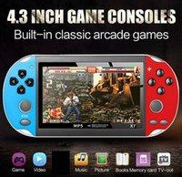 x7 비디오 게임 플레이어 4.3 인치 GBA 핸드 헬드 게임 콘솔 레트로 게임 LCD 디스플레이 게임 플레이어