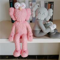 Hot 37cm e 25 cm OriginalFake Changsha Sésamo Rua Companion Caixa Original Caixa de Tendência Figura Modelo Decorações Brinquedos Presente