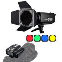 Godox DP1000II GN92 1000WS 2.4G Estudio de luz estroboscópica flash 1000W Fotografía de iluminación para la boda Retrato Moda