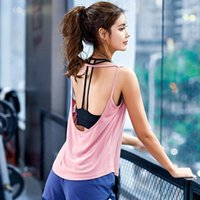 Women Sport Vest Female Yoga Shirts Running Undershirt Fitness Pullover Sleeveless T-shirt Training Tank Tops Workout Gym Blouse