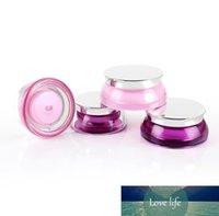 15G 30G Фиолетовый Розовый Летающие блюдца Форма Высококлассные Косметические Jar Акриловые крем Контейнер для ухода за кожей крем Путешествия Макияж Пот SN1024