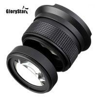 Glorystar 58mm 0.35x occhio di pesce super grandangolare obiettivo fisheye per canon nikon sony dslr1