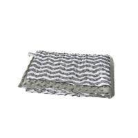 Chevron Minky Decken Tür zu Tür Meeresversand Custom Pattern Kinderabdeckungen 70 * 90 cm Geschenk Babydecke Dom1215