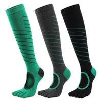 Calcetines deportivos Cinco de punta de punta antideslizante yoga para mujeres de algodón Ballet Dance No Grip1