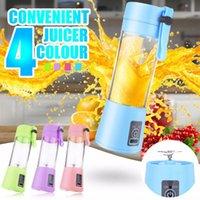380 ml Portable Juicer Elettrico USB Smooty Blender Smoothie Blender 6 Blades Verdure Verdura Mini Juice Cup Squeetzers