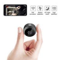 Камеры A9 Беспроводной WiFi Сетевая видеокамера высокой четкости 1080P 2 млн. Пиксель Мониторинг температуры Удаленная сигнализация1