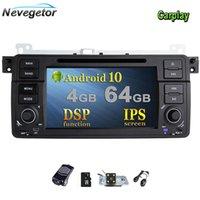 Araba DVD Oynatıcı Android 10 GPS Navigasyon E46 M3 Rover 75 Coupe 318/320/325/330/335 Radyo Stereo WiFi