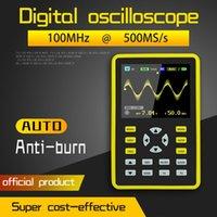 5012H 2.4 بوصة شاشة رقمية راسم 500MS / ثانية معدل أخذ العينات 100MHZ التناظرية عرض النطاق الترددي دعم الموجي التخزين