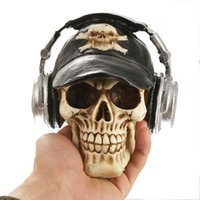 Resin Skull Halloween Gift Personalized Decoration Home Deco...