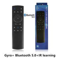 G20S Bluetooth 5.0 Air Mouse Gyroscope ИК ИК Узнать беспроводной пульт дистанционного управления для Xiaomi Android TV Box X96 H96 TX3 A95X TX6