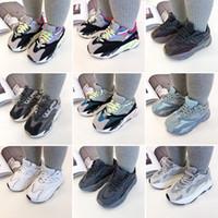 Chaussures enfants Chaussures bébé Toddler Run Sneakers Kanye West Yez 700 Chaussures de course Chaussures Enfant Enfants Boys et Filles Chaussures 35