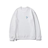 20SS Männer / Frauen Hoodies 2020 Neue Paar Langarm Solide Farbe Sweatshirts Mens Modebrief Gedruckt Hiphop Tops Streetwear Asian Größe