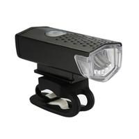دراجة دراجة ضوء LED USB قابلة للشحن مجموعة جبل عودة الجبهة مصباح المصباح في الهواء الطلق مضيا رياضة الدراجات