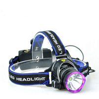 HeadLamps NDTUSMZ 6000 LUMEN CREE XM XML T6 LED KOPLAMP ZakLamp Hoofd Lampada Lampada non include 2 * 18650 oplader e caricatore automatico