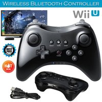Game Controllers & Joysticks BEESCLOVER For Wii U Pro Bluetooth Wireless Controller USB Classic Dual Analog Gamepad D35