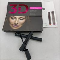 Auf Lager! 3D Faser Wimpern Wasserdichte Doppel Mascara Geschenk Set Makeup Wimpern 1Set = 2 stücke Freies Verschiffen