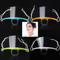 DHL Ücretsiz Toptan Eşya Sağlık Aracı Şeffaf Maskeler Daimi Karşıtı Sis Catering Gıda Otel Plastik Kitchen Restaurant Koruyucu Maskeler