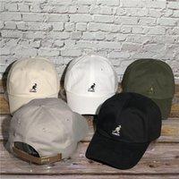 2020 Nova Kangoll Kangaroo chapéu de moda marca macia top sunshade boné de beisebol para homens e mulheres