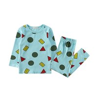 Leisure Children Baby Pajamas Sets Infant Kid Baby Boys Cart...