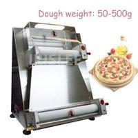 10-40 cm Elektrische Pizzatough-Pressemaschine Edelstahl-Teig-Rollenblatt-Gebäck-Druck-Pizzateig-Chapati-Abflachendrucker
