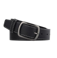 Hi- Tie Men' s Belt High Quality Cowhide Leather Strap Be...