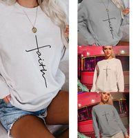 Womens Winter Tops Hoddies for Teens Kawaii Clothing Aesthetic Letter Printing Sweatshirt Women