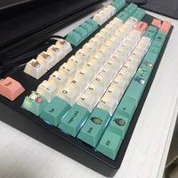 Totoro design Cherry Profilo sublimazione PBT Copritasti con apertura per Cherry Mx interruttore meccanico di gioco tastiera Caps Ikbc FILCO chiave