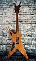 Lavser de la croix sudbag darrell flamme érable de la guitare électrique naturel de la guitare de guitare d'ormeau d'ormeal, Floyd Rose Tremolo, Hardware noir