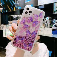 아이폰에 대 한 새로운 패션 반짝이 전화 케이스 11pro 최대 xs xr xsmax 7 / 8plus 최고 품질의 TPU PC 인쇄 전화 커버 아이폰 12 Pro Max
