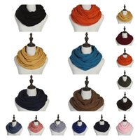 Трикотажное Теплый шарф Круг петли шарфа грелки шеи мужчин и женщин шарф Рождество Мода для вечеринок T2C5297