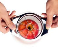 2020 Paslanmaz Çelik Elma Dilimleme Sebze Meyve Dilimleme Meyve Bıçağı Dilimleme Kesme Torp Mutfak Pişirme Araçları