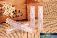 5PCS X 3 ㎖ / 2ml를 미니 투명 플라스틱 청소, 여행, 에센셜 오일에 대한 병 빈 귀여운 향수 분무기 스프레이, 향수