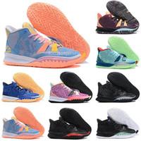 2021 جديد كيري 7 رجل كرة السلة الأحذية السابع تعبيرات خاصة fx soundwave الأخوة bk الأسود قبل الحرارة الرجال المدربين الرياضة أحذية رياضية 40-46