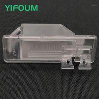 Auto Rückansicht Kameras-Parking-Sensoren Yifoum-Kamera-Halterung-Kennzeichen Beleuchtung für Kicks Cefiro X-Trail Dualis Qashqai J10 Sentra 1801