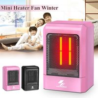 Electric Heater 500W Portable Electric Mini Fan Space Heater...