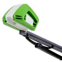 تجديد أداة إصلاح مرمم سيارة سيارة الزجاج الأمامي إصلاح خدش كيت منظف جديد العالمي السيارات الأخضر الزجاج الأمامي ممسحة blade1