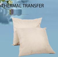 فارغة الكتان التسامي وسادة النقل الحراري وسادة رمي وسادة غطاء الكتان للحرارة طباعة المنزل أريكة وسادة القضية يغطي F102006