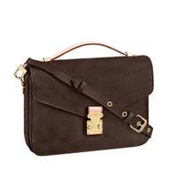 2021 bolso de hombro bolsa de hombro Bolsa de cruz Totes Totes de mano bolso de mano bolsas de cuero real Mochila de embrague Moda Moda Bolsas marrones # ycb02