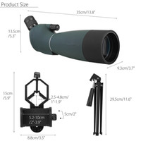 FreeShipping 25-75X70 HD водонепроницаемый противоударный оптический Монокуляр бинокулярный телескоп окуляр для наблюдения за птицами ночного видения Зрительные Область применения